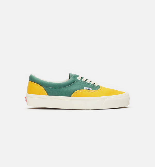 VAULT OG ERA LX MENS LIFESTYLE SHOE - GOLD/GREEN