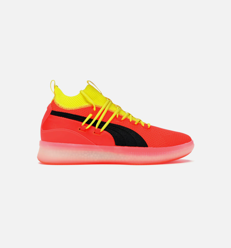 CLYDE COURT DISRUPT MENS SHOE - RED/RED