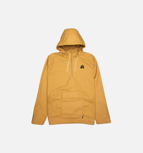 TYLER THE CREATOR GOLF LE FLEUR MENS ANORAK - BURLAP BROWN