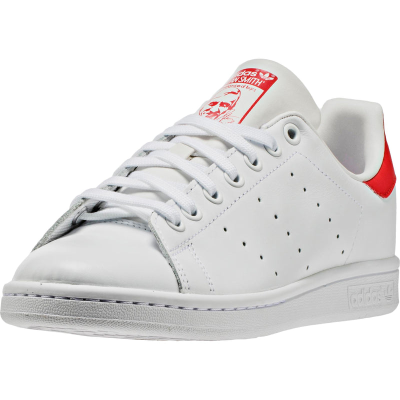 ADIDAS STAN SMITH MEN'S - RUNNING WHITE/RED