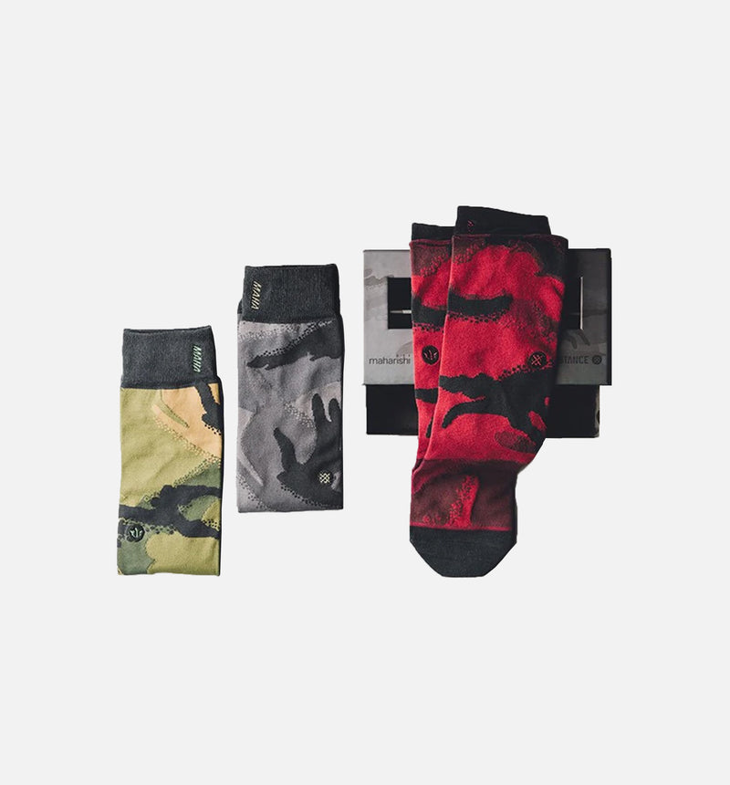 MAHARISHI X STANCE SOCKS MENS - MULTI