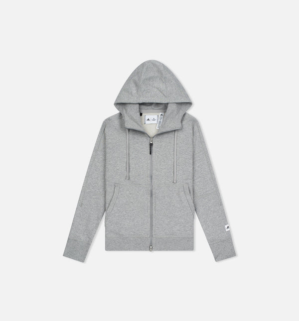 REIGNING CHAMP X ADIDAS FRENCH TERRY ZNE HOODIE WOMEN'S - GREY
