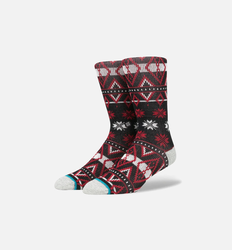 STANCE KARLTON CREW SOCKS - BLACK