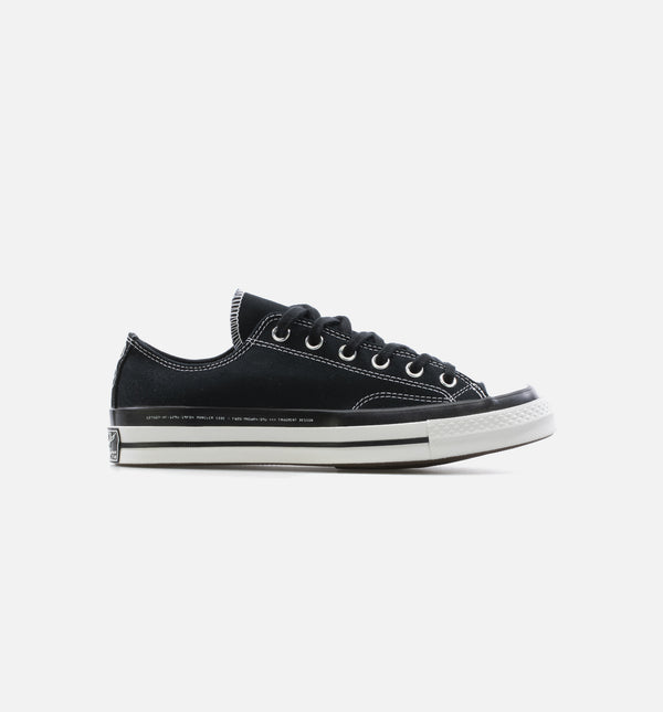 CHUCK TAYLOR 70 X 7 MONCLER FRAGMENT LOW MENS LIFESTYLE SHOE - BLACK/WHITE