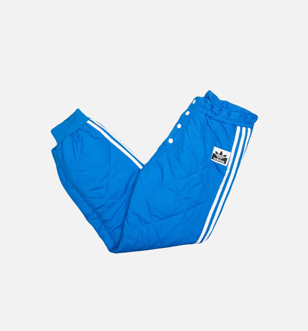 adidas art 897295 kids clothes for boys 6 8 years QUILTED WOMENS TRACK  PANT - BLUE