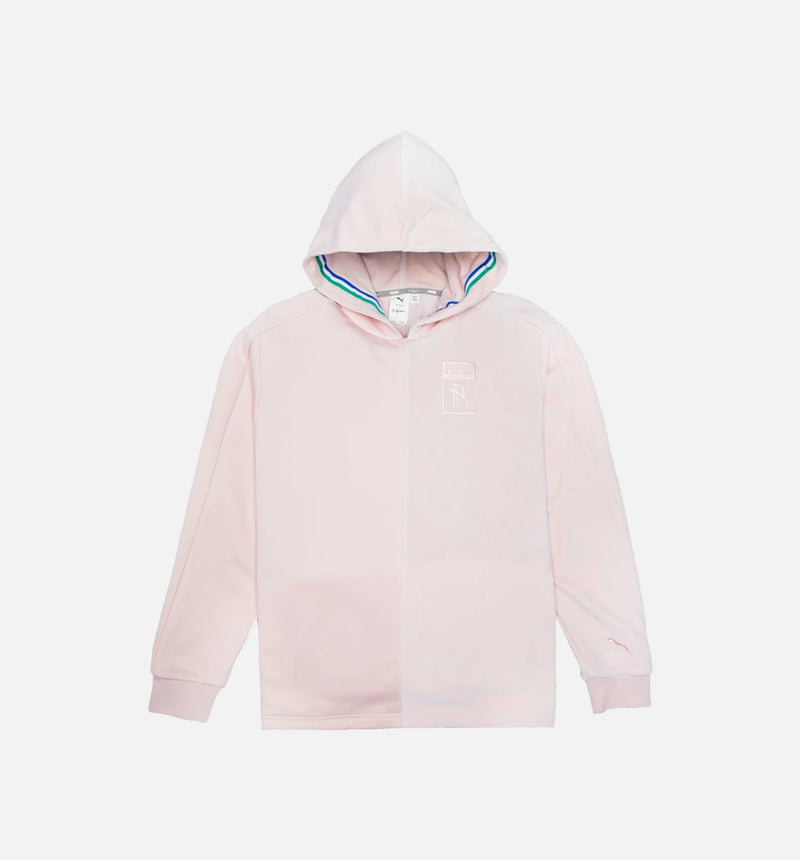 PUMA X BIG SEAN COLLECTION MENS TRACK JACKET - PINK/PINK