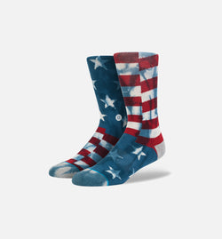 STANCE BANNER SOCKS KIDS' - NAVY/RED/GREY
