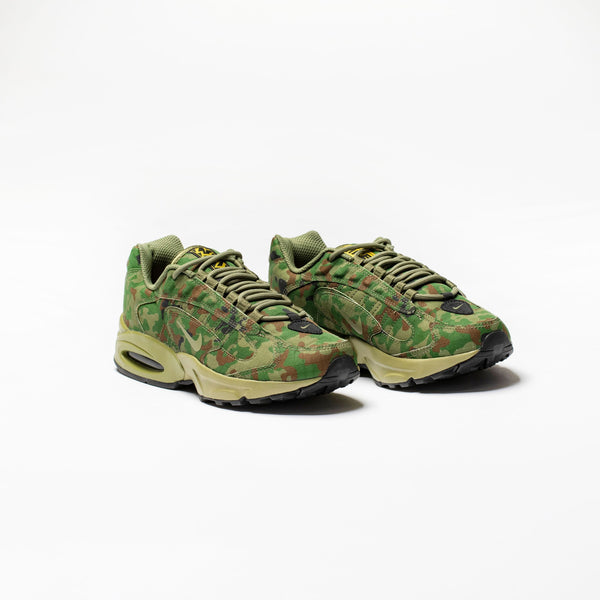 AIR MAX TRIAX 96 SP MENS RUNNING SHOE - SAFARI/THERMAL GREEN/LIGHT CHOCOLATE/BLACK