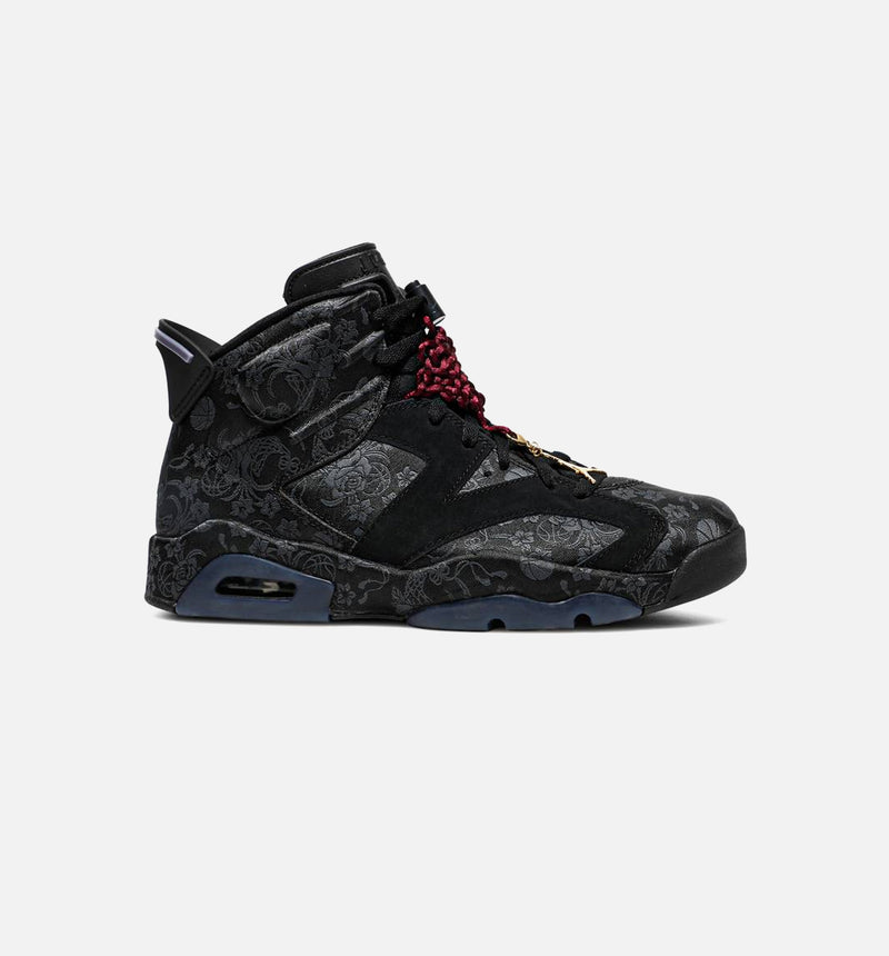 AIR JORDAN RETRO 6 SD SINGLE DAYS WOMENS LIFESTYLE SHOE -  Black/Black