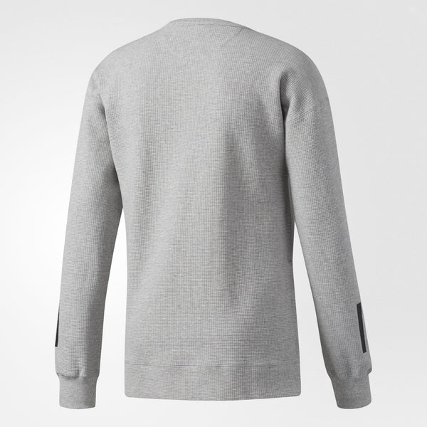 ADIDAS NOVA INSTINCT CREW SWEATSHIRT MEN'S - HEATHER GREY