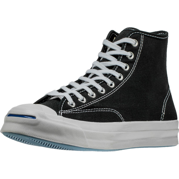 CONVERSE JACK PURCELL SIGNATURE HI MEN'S - BLACK/WHITE