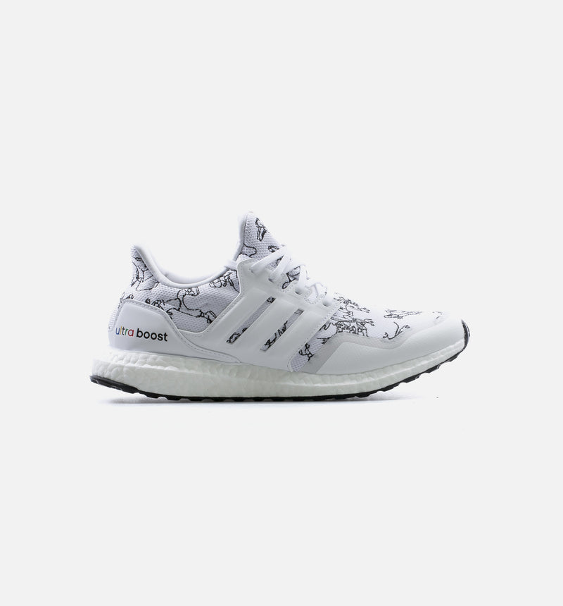 ULTRABOOST DNA X DISNEY MENS LIFESTYLE SHOE - CLOUD WHITE/BLACK