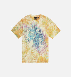 PHARRELL WILLIAMS BASKETBALL MENS T-SHIRT - MULTI-COLOR/YELLOW/BLUE