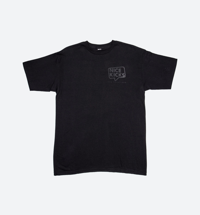 Nice Kicks San Francisco Shirt - Black/Black