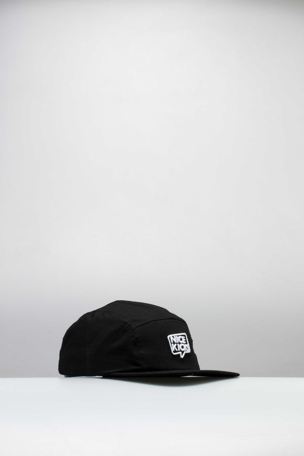 NICE KICKS CAMPER HAT - BLACK/WHITE