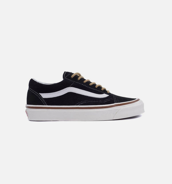 ANAHEIM FACTORY OLD SKOOL 36 DX MENS SHOE - OG BLACK/SUEDE/CORDUROY
