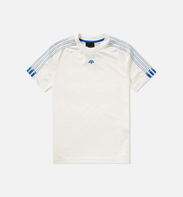 ADIDAS X ALEXANDER WANG CAPSULE COLLECTION SOCCER JERSEY MEN'S - CORE WHITE