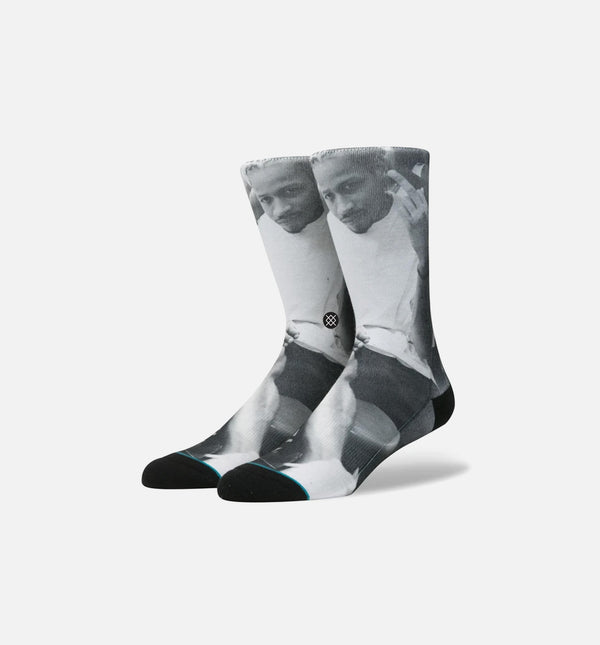 STANCE ALLEN IVERSON G.L BRAIDS SOCKS MEN'S - BLACK/WHITE/GREY