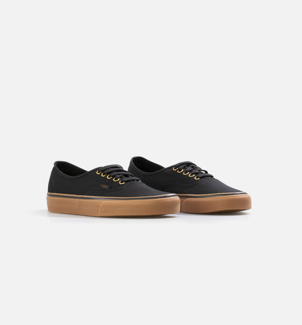 VANS AUTHENTIC LACE-UP MENS LIFESTYLE SHOE - BLACK/BROWN