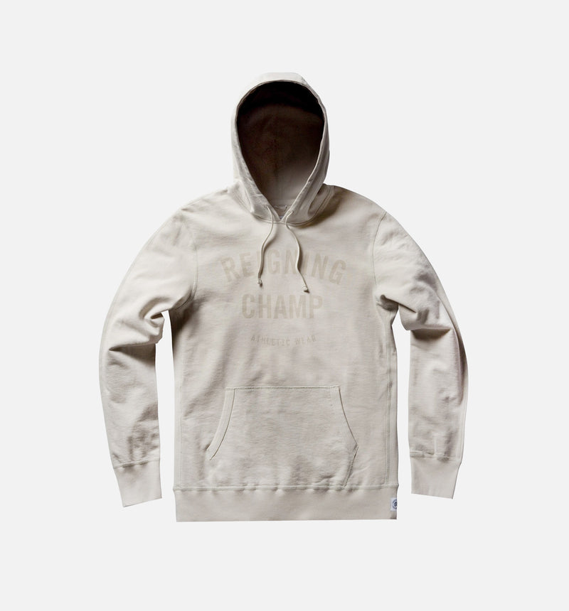 REIGNING CHAMP GYM LOGO PULLOVER HOODIE MEN'S - DUST