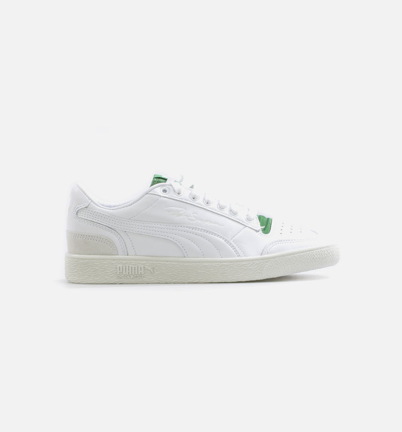 PUMA RALPH SAMPSON LOW RUDOLF DASSLER LEGACY MENS LIFESTYLE SHOE - WHITE/GREEN