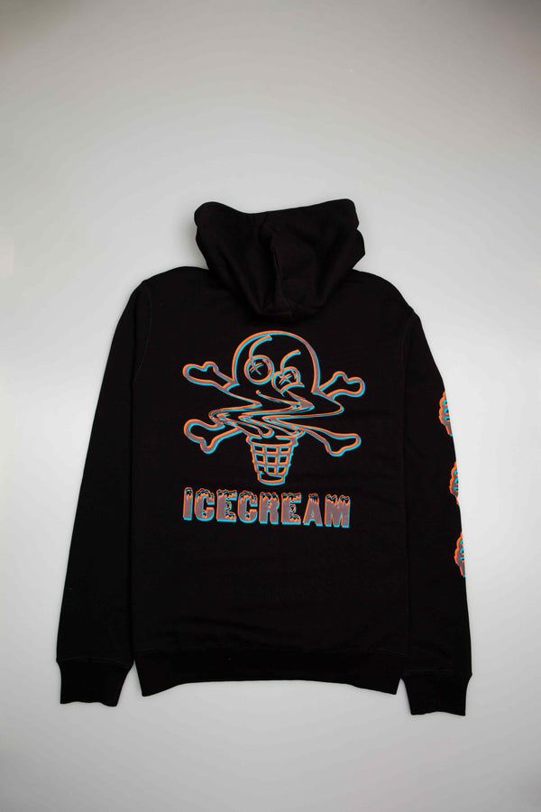 CHOCOLATE MENS HOODIE - BLACK/BLACK