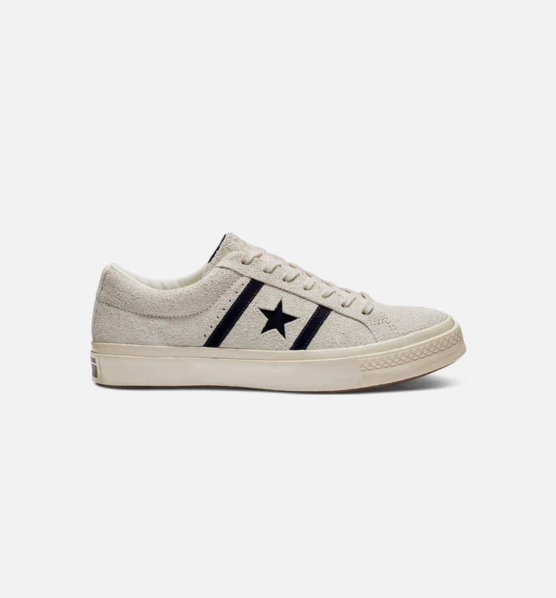 ONE STAR ACADEMY OX MENS SHOE - WHITE/BLACK
