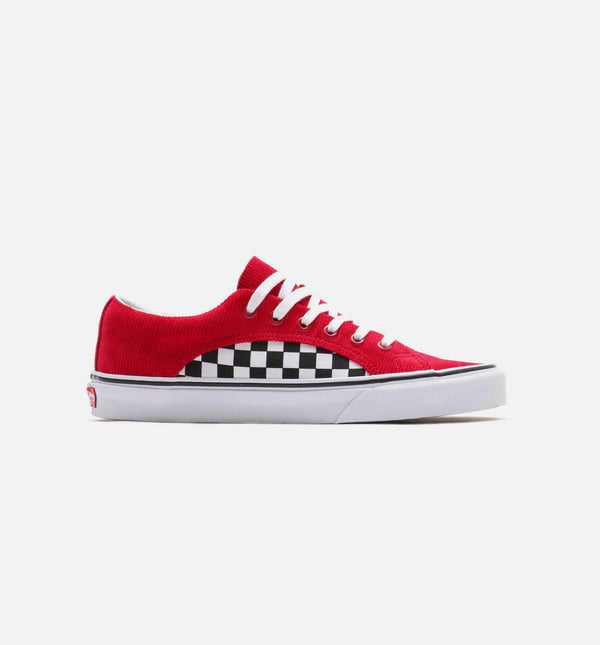CHECKER CORD LAMPIN MENS SHOES - RED/WHITE