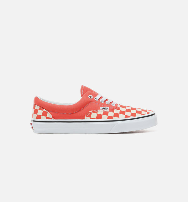 CHECKERBOARD ERA MENS SHOES - EMBERGLOW/TRUE WHITE