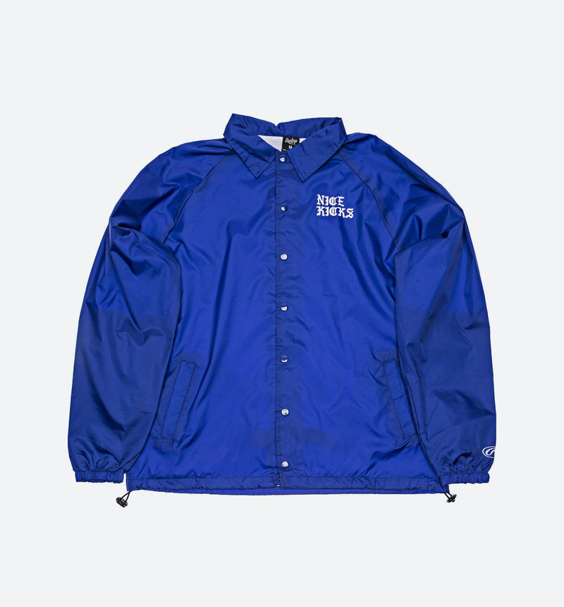 "NICE KICKS ""PABLO"" COACH ""LOWRIDER"" MENS JACKET - ROY"