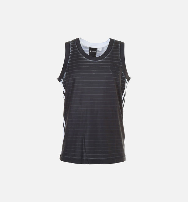 ADIDAS ORIGINAL BY ALEXANDER WANG MENS MUSCLE TANK - BLACK/WHITE