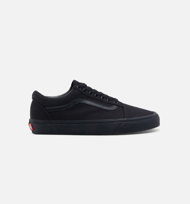 VANS CANVAS OLD SKOOL MENS LIFESTYLE SHOE - BLACK/BLACK