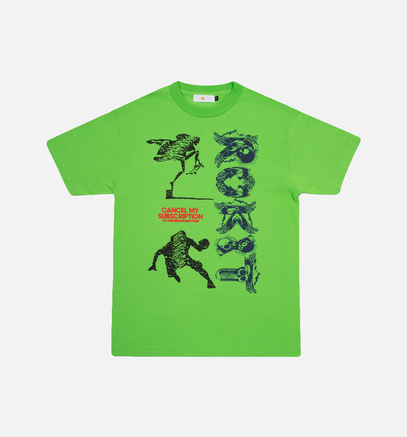 SUBSCRIPTION MENS T-SHIRT - GREEN/GREEN