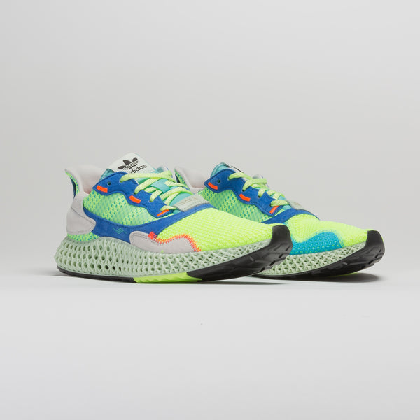 ZX 4000 4D MENS RUNNING SHOE - GREEN/BLUE