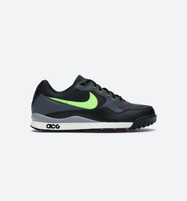 NIKE AIR WILDWOOD ACG MENS RUNNING SHOE - BLACK/GREEN