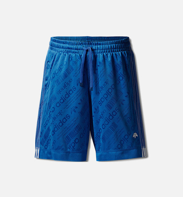 AW SOCCER MENS SHORTS - BLUE