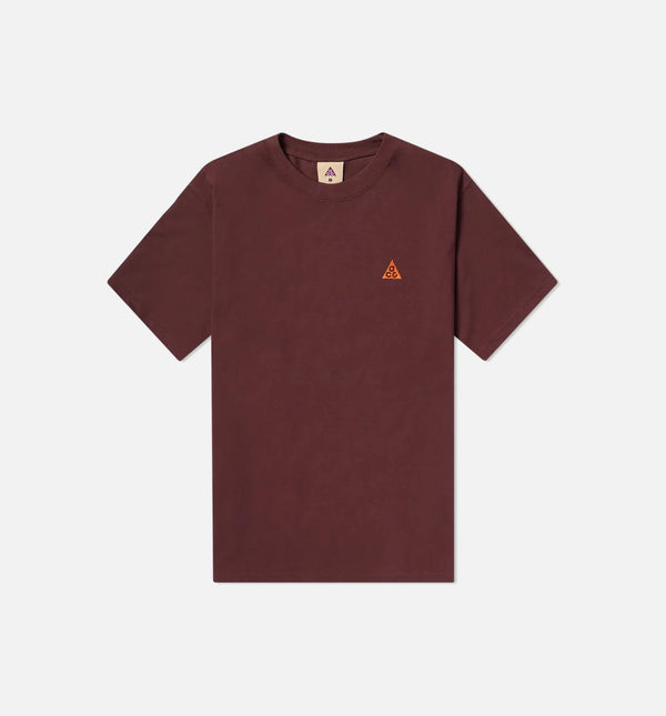 ACG MENS SHORT SLEEVE SHIRT - BURGUNDY