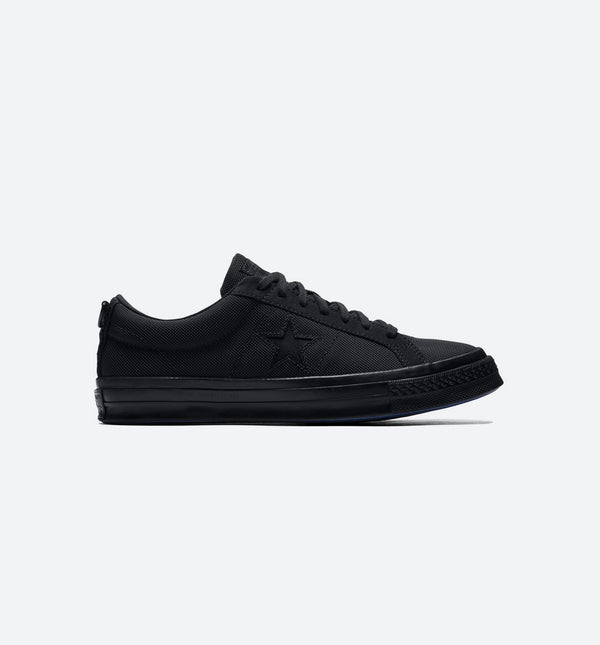 CONVERSE ONE STAR X CARHARTT MENS SHOES - BLACK/BLACK