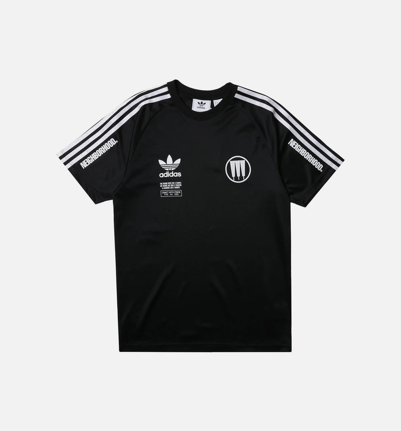 NEIGHBORHOOD MENS GAME JERSEY - BLACK/WHITE
