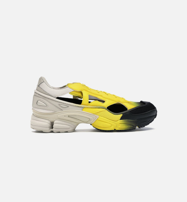 RAF SIMMONS OZWEEGO REPLICANT MENS SHOES -BLACK/YELLOW/OFF WHITE