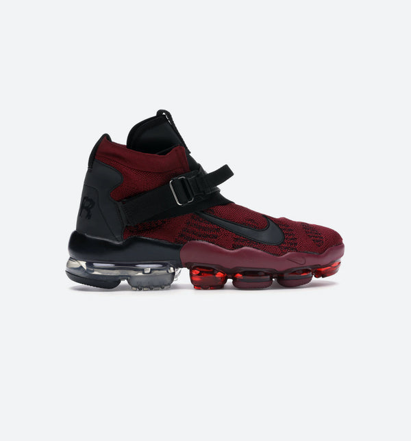 VAPORMAX PREMIUM FLYKNIT MENS SHOE - RED/BLACK