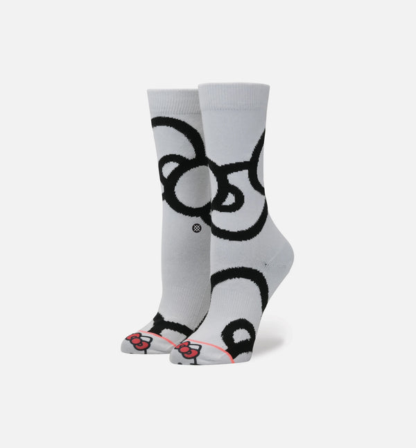 STANCE X SANRIO HELLO KITTY BOWS SOCKS WOMEN'S - WHITE/BLACK/RED