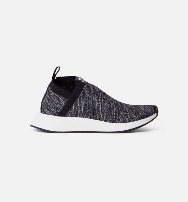 ADIDAS US & SONS NMD CS2 PRIMEKNIT MENS SHOE - CORE BLACK/RUNNING WHITE