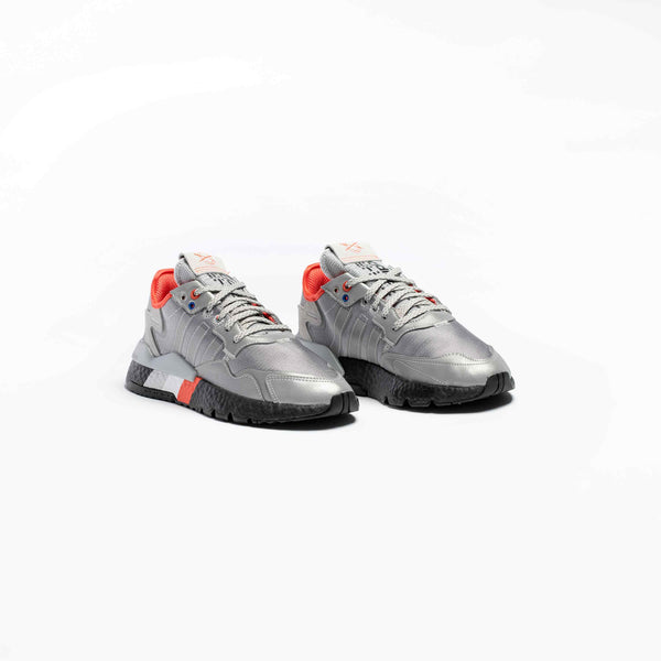 NITE JOGGER 3M MENS RUNNING SHOE - SILVER METALLIC/SILVER/CORE BLACK/RED/WHITE