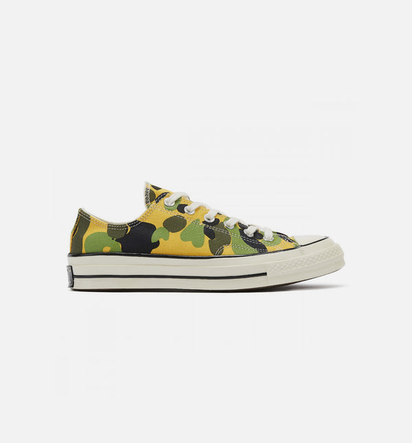 CONVERSE CHUCK TAYLOR 70 LOW ARCHV OX MENS SHOE - GOLD/BLACK
