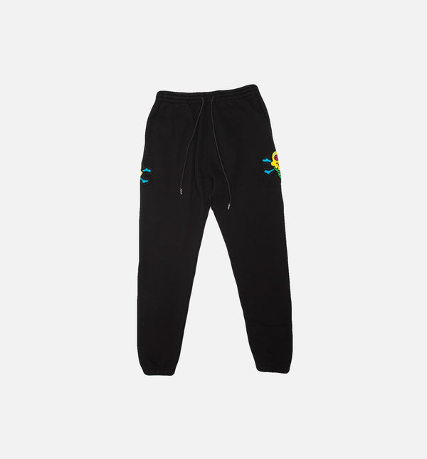 STACKER MENS SWEATPANTS - BLACK/BLACK