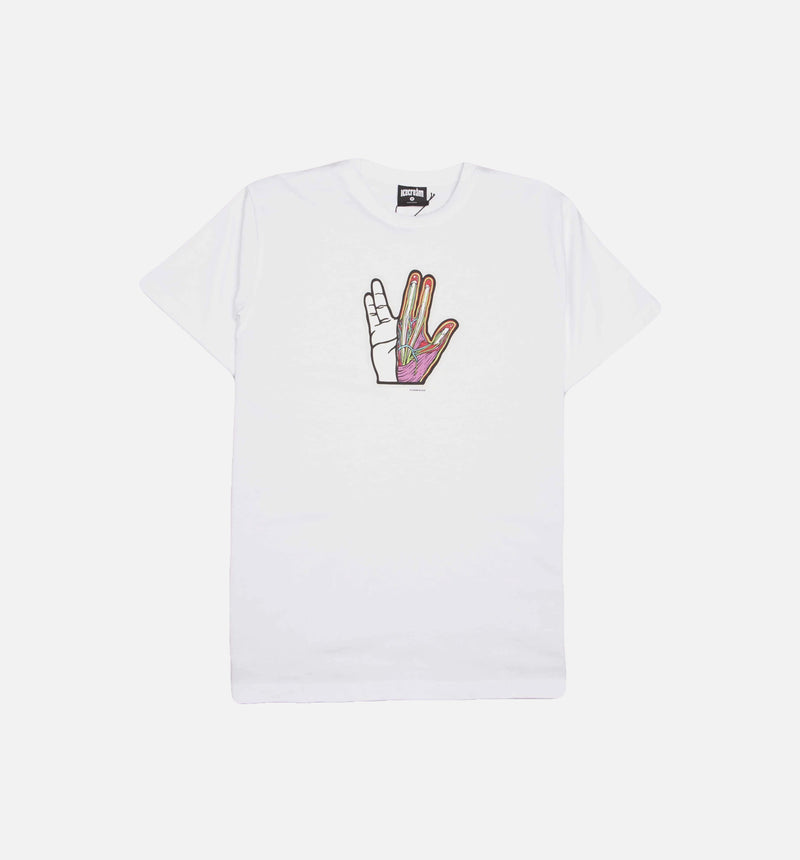 ICE CREAM LIVE LONG MENS T-SHIRT - WHITE/WHITE