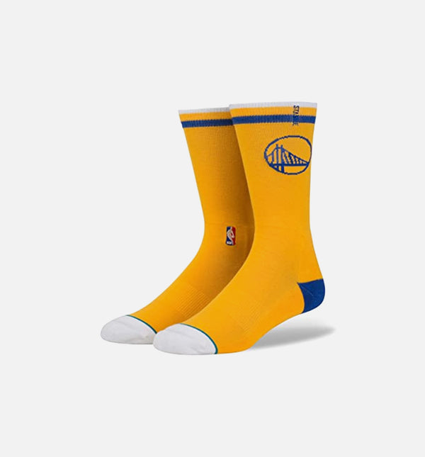 Stance NBA Golden State Warriors Socks (Mens) - Yellow