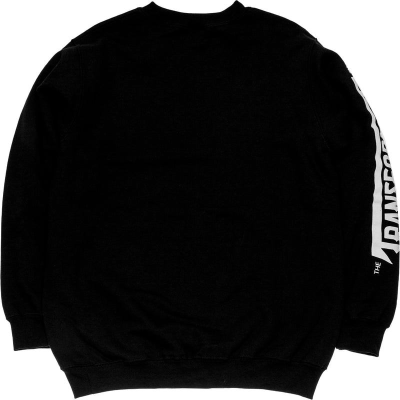 NICE KICKS X TRANSFORMERS DECEPTICON CREWNECK SWEATER MEN'S - BLACK