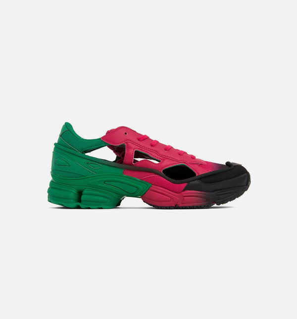 RAF SIMONS OZWEEGO REPLICANT MENS SHOES - GREEN BERRY/ BLACK